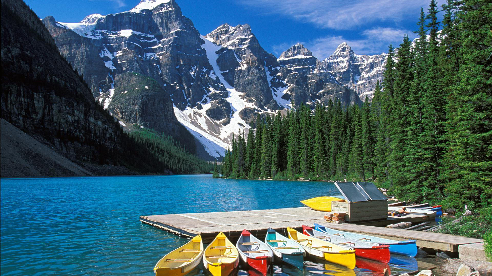 how to get to lake louise from banff