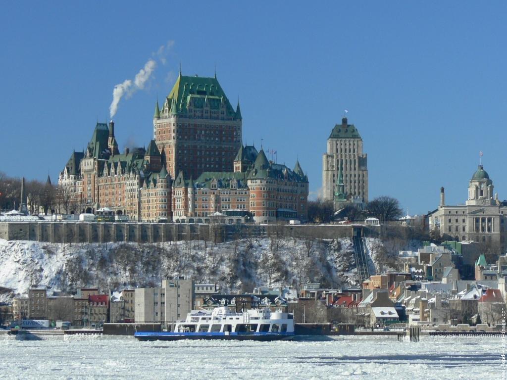 Canada qu bec et ontario neige hiver circuit - Piscine maisonneuve montreal quebec rouen ...