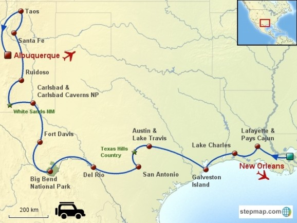 Usa / Grand-Ouest / Fly & Drive / Bayous, Rio Grande & Pueblos